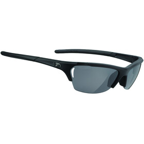Tifosi Radius Glasses matte black - smoke/AC red/clear